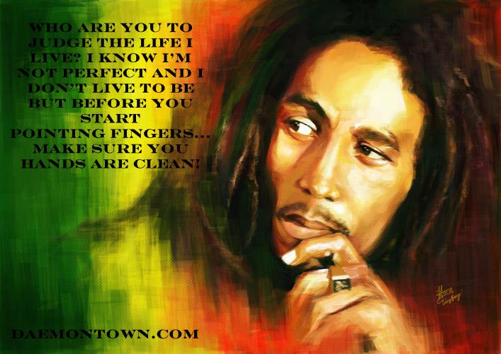 Bob Marley Live Life