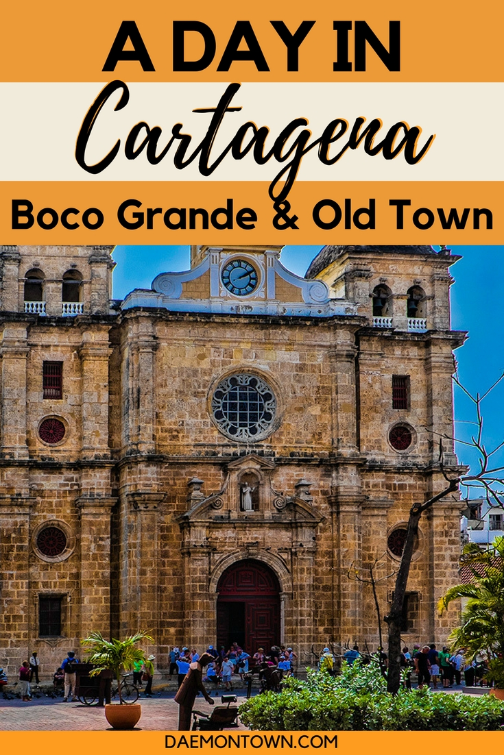 Check out this stunning photo essay of one day in old town Cartagena, Colombia!