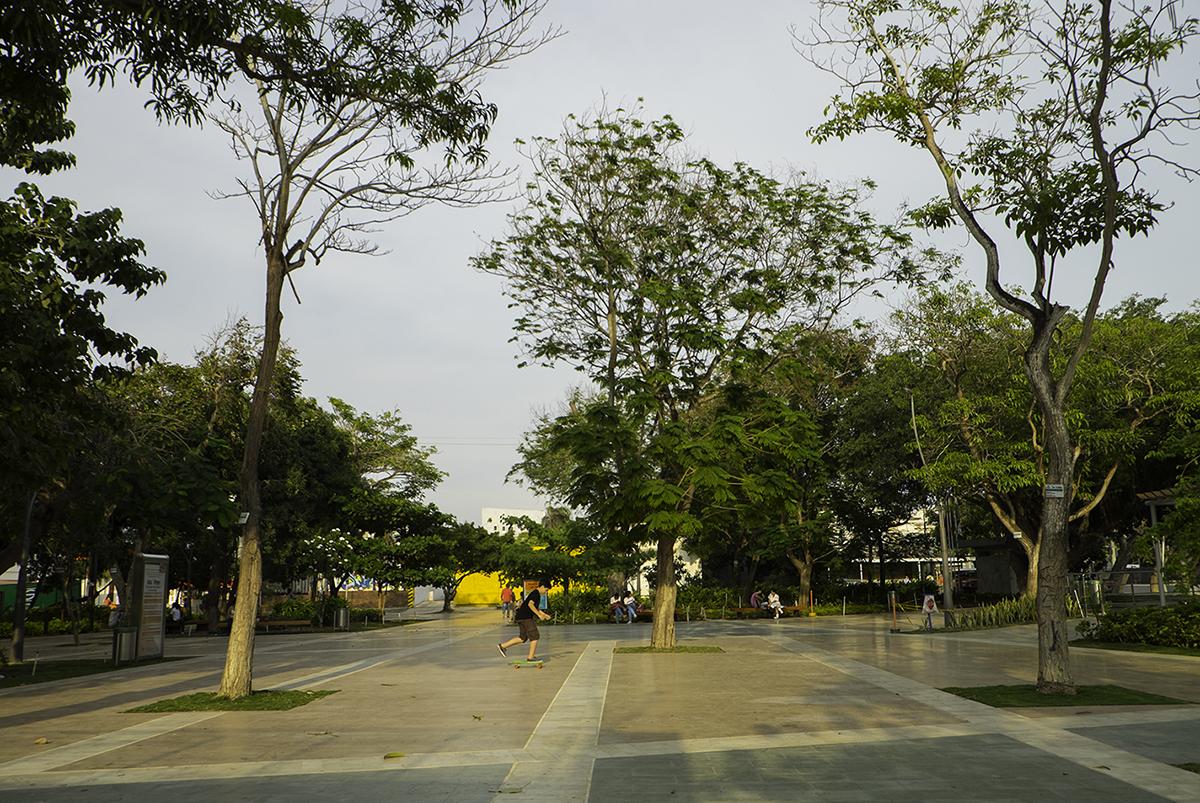 The Plaza de la Paz